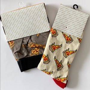 Urban Outfitters Men's pizza boxers and socks